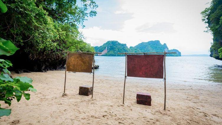 """Un lieu de tournage de l'émission """"Koh Lanta"""", diffusée sur TF1 depuis 2001. (BUREAU 233 / ALP / TF1)"""
