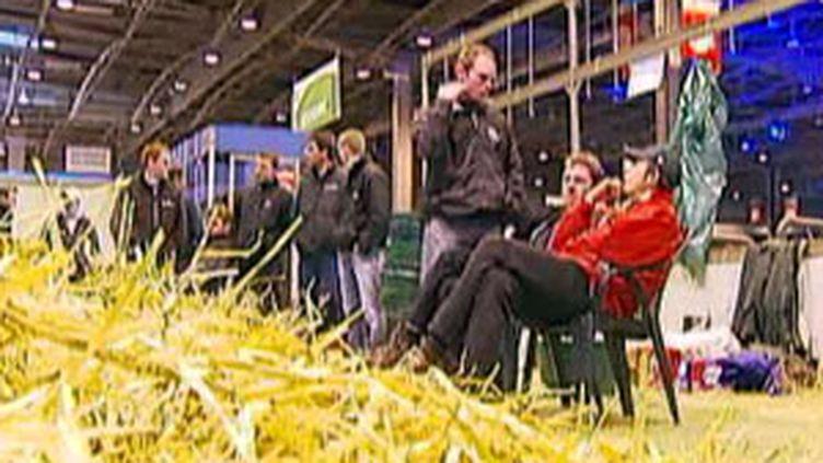 Le salon de l'agriculture, un événement quasi incontournable pour bon nombre d'hommes et femmes politiques. (F2)