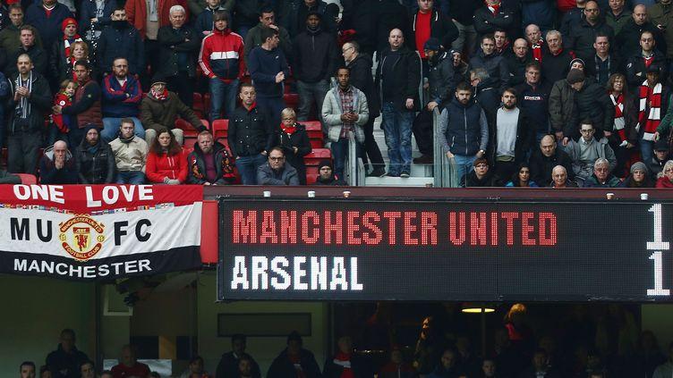 Old Trafford lors de MU-Arsenal (MATT WEST / BACKPAGE IMAGES LTD)