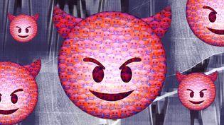 """Les membres de """"La Ligue du LOL"""" ont harcelé leurs victimes sur les réseaux sociaux durant des années. (VINCENT WINTER / FRANCEINFO)"""