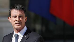 Manuel Valls, le 15 juillet 2016 à l'Elysée. (THOMAS SAMSON / AFP)
