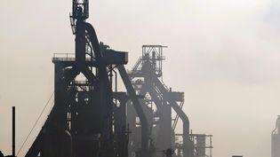 Le site d'ArcelorMittal de Florange (Moselle), le 1er octobre 2012. (JEAN-CHRISTOPHE VERHAEGEN / AFP)