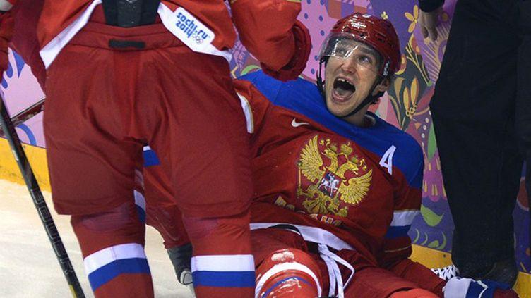 Alexander Ovechkin. (ALEXANDER NEMENOV / AFP)