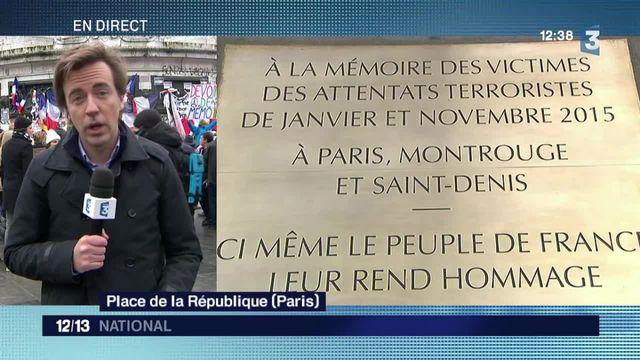 Commémoration des attentats : une journée de mémoire