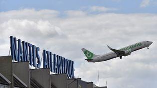 L'aéroport actuel de Nantes-Atlantique, situé au sud de la ville. (LOIC VENANCE / AFP)