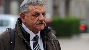 L'ancien maire de La Faute-sur-Mer (Vendée), René Marratier, lors de son procès en appel à Poitiers (Vienne), le 1er décembre 2015. (GUILLAUME SOUVANT / AFP)