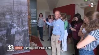 Une exposition rend hommage aux harkis. (France 2)