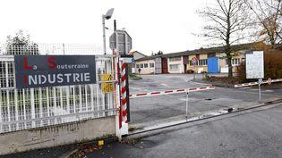 L'entrée du site GM&S de La Souterraine (Creuse), le 5 décembre 2012. (MATHIEU TIJERAS / MAXPPP)