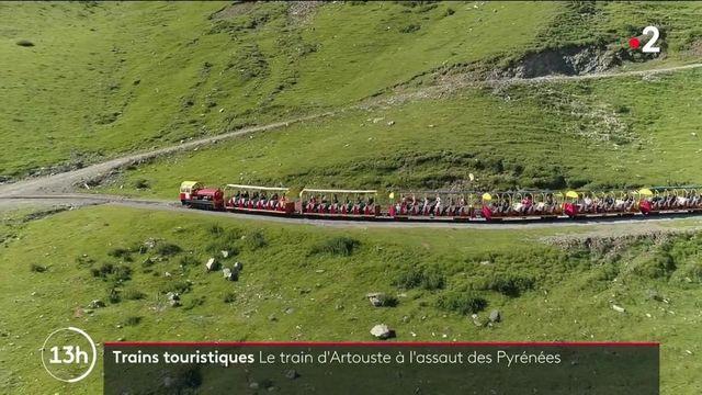 Pyrénées-Atlantiques : 50 minutes de magie à bord du petit train d'Artouste