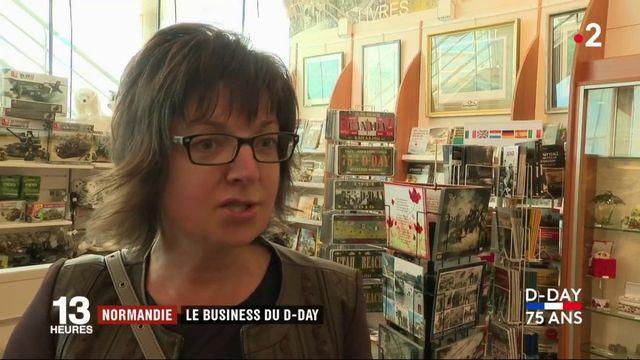Commerce : en Normandie, le business du D-Day fait recette