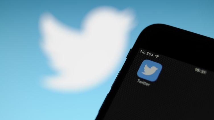 """Amnesty International a dénoncé, le 17 décembre 2018, les carences de régulation du réseau social Twitter, un endroit où """"le racisme, la misogynie et l'homophobie"""" prospèrent """"sans contrôle"""". (JAAP ARRIENS / NURPHOTO / AFP)"""