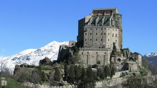 "La ""Sacra di San Michele"", dans le Piémont (Italie)  (GIORGIO EVANGELISTA / AGF / PHOTONONSTOP)"