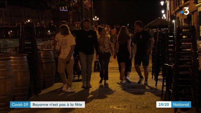 Cocid-19 : Bayonne n'est pas à la fête