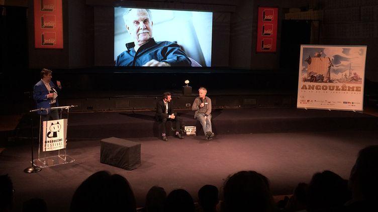 Hermann, présentation de la 44e édition du festival d'Angoulême  (Laurence Houot / Culturebox)