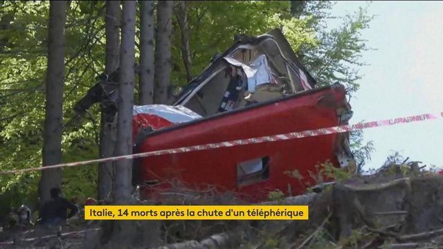 Italie : 14 personnes décèdent après la chute d'une cabine de téléphérique