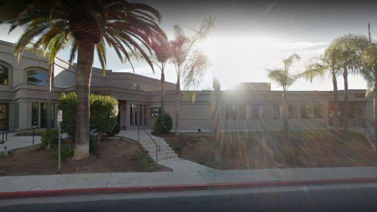 La synagogue Chabad Poway, située près de San Diego (Etats-Unis), où s'est déroulée une fusillade samedi 27 avril 2019. (GOOGLE MAPS)