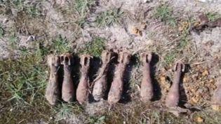 Depuis sa création en 1945, le service du déminage a détruit plus de 30 millions de munitions en France. Cette semaine encore, 70 obus ont été déterrés sur une plage de la Manche. (France 3)