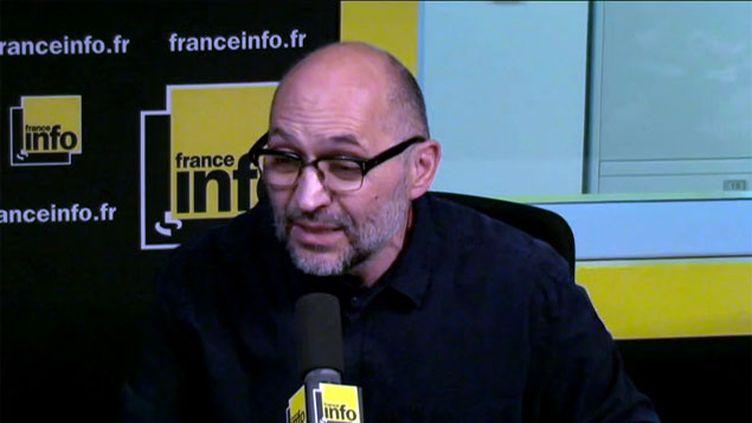 (Xavier Denamur © Radio France)