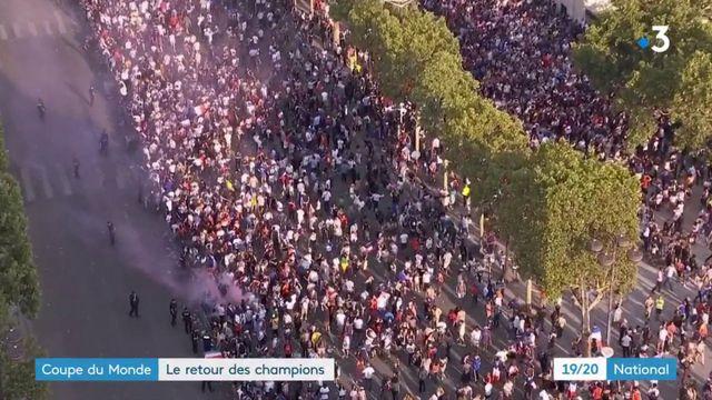 Coupe du monde 2018 : les Bleus sur le poitn d'arriver à l'Élysée