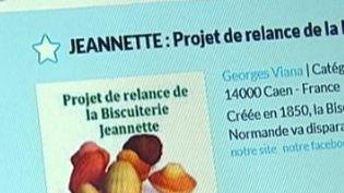 Projet de relance de Jeanette. (CAPTURE D'ÉCRAN FRANCE 2)