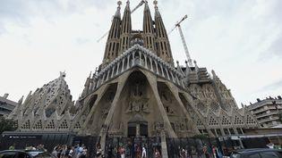 La Sagrada Familia de Barcelone,le 19 août 2017. (LLUIS GENE / AFP)