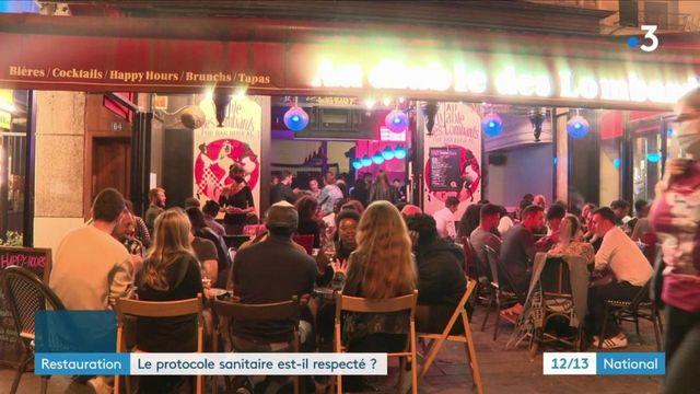 Île-de-France : le protocole sanitaire est-il respecté dans les bars et les restaurants ?