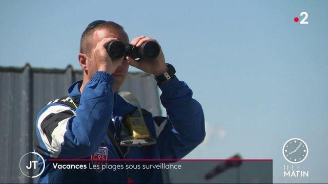 Calvados : les plages sous surveillance