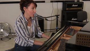 La chanteuse Jeanne Cherhal. (france 3)