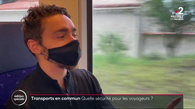 Coronavirus : les usagers des transports en commun pas toujours rassurés