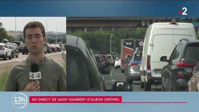 Vacances : toute la France en rouge dans le sens des départs