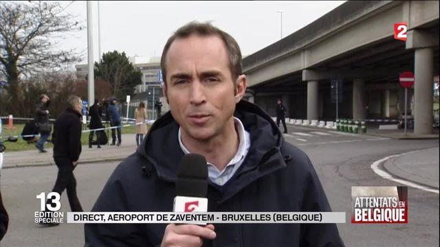 Aéroport de Zaventem à Bruxelles : un périmètre de sécurité est toujours en place