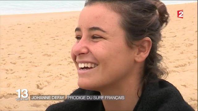 Johanne Defay : prodige du surf français