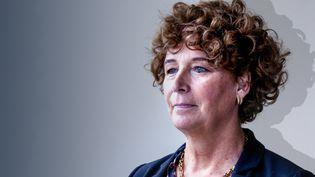 Petra De Sutter, vice-première ministre et ministre chargée de la Fonction publique en Belgique. (STÉPHANIE BERLU / FRANCE-INFO)