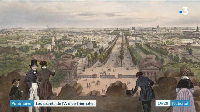Patrimoine : l'histoire de l'Arc de triomphe