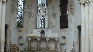 Chapelle enchêres Loir-et-Cher (FRANCE 3)