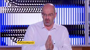 Le docteur Damien Mascret (FRANCEINFO)