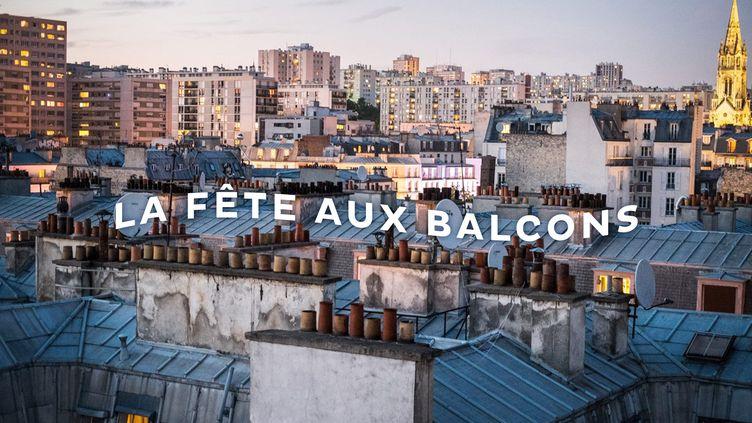 La Fête aux balcons, un hommage en musique aux soignants en temps de pandémie de coronavirus, donne rendez-vous partout en France le vendredi 20 mars de 20h à 21h. (DUREVIE.PARIS)