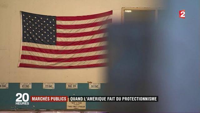 Marchés publics : quand l'Amérique fait du protectionnisme