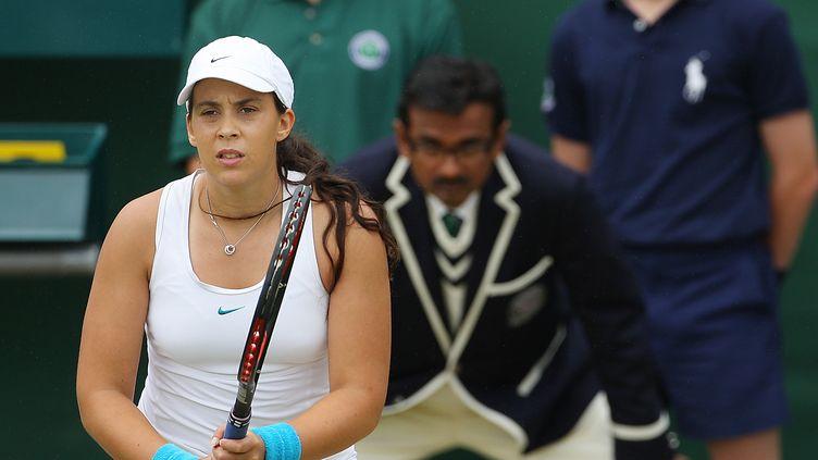 Marion Bartoli à Wimbledon en 2007 (ADRIAN DENNIS / AFP)