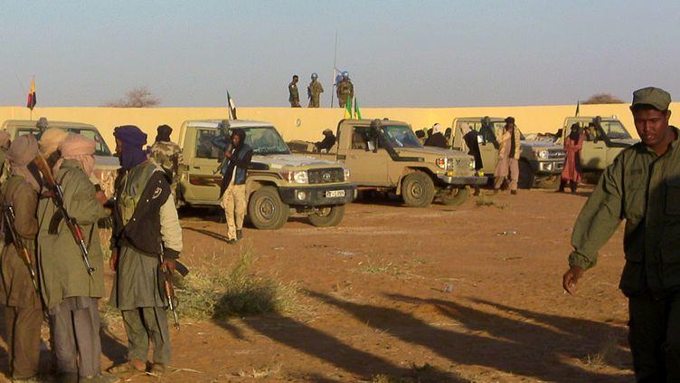 Des troupes positionnées à Gao, dans le nord du Mali, le 9 janvier 2017. (AFP)