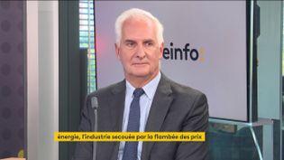 Nicolas de Warren, président de l'Uniden, le 13 octobre 2021. (FRANCEINFO / RADIO FRANCE)