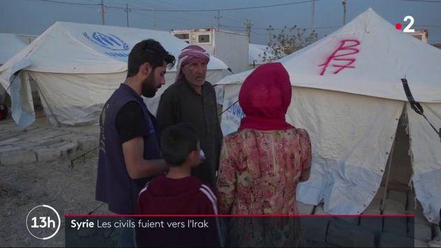 Syrie : les civils fuient vers l'Irak