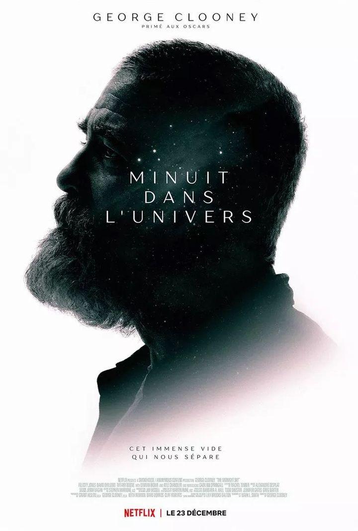 """L'affiche de""""Minuit dans l'univers"""" de George Clooney. (NETFLIX)"""