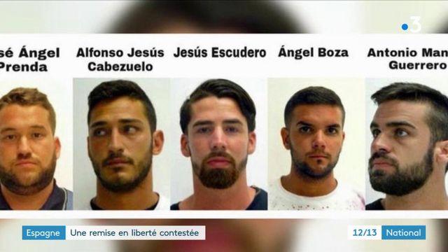 """Espagne : la colère monte après la remise en liberté  de """"La Meute"""""""