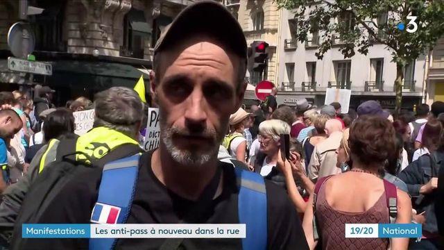 Manifestations anti-pass sanitaire : un troisième samedi de mobilisation avec une affluence en hausse