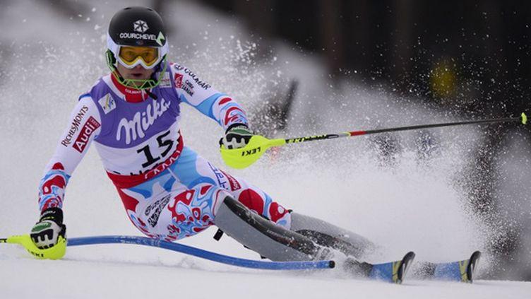 Alexis Pinturault, 2e temps du slalom géant de Garmisch après la première manche