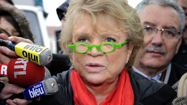 Eva Joly, le 10 avril 2012. (BERTRAND GUAY / AFP)