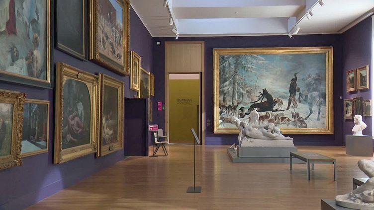 Le musée des beaux arts de Besançon accueille la plus grande collection de Courbet (France 3 BFC)