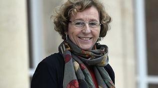 La ministre du Travail Muriel Pénicaud à la sortie du Conseil des ministres à l'Elysée, le 12 janvier 2018. (STEPHANE DE SAKUTIN / AFP)