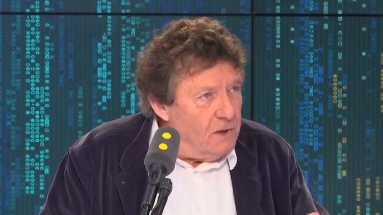 Le sociologue Jean Viard, invité sur franceinfo. (FRANCEINFO / RADIOFRANCE)